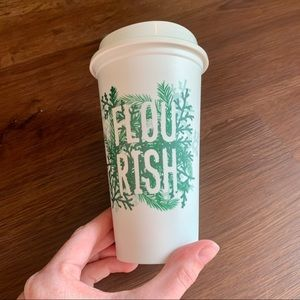 Starbucks ToGo Travel Mug Cold FLOURISH Winter Cup